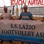 Buon Natale dalla SS Lazio Footvolley
